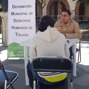 Cuida a la población Defensoría Municipal de Derechos Humanos de Toluca