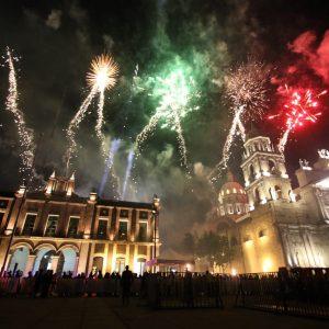 Se ilumina el cielo de la capital con Festiva Toluca 2019