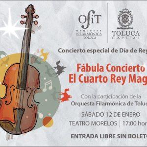 """Inicia OFiT el 2019 con espectacular """"Fábula Concierto El Cuarto Rey Mago"""""""