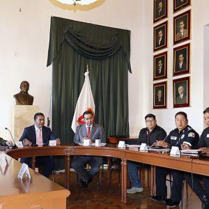 Instala Juan Rodolfo Sánchez Mesa de Coordinación Territorial para la Construcción de la Paz