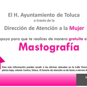 Salva vidas Toluca con mastografías gratuitas