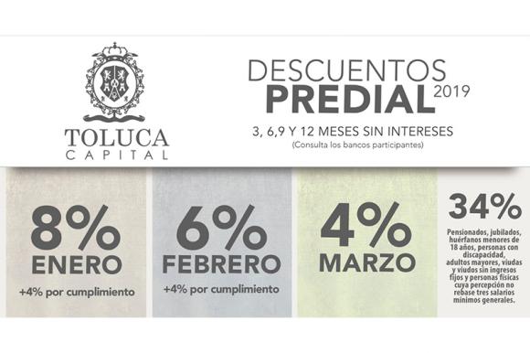 Cuenta Toluca con procesos ágiles y transparentes para el pago de impuestos