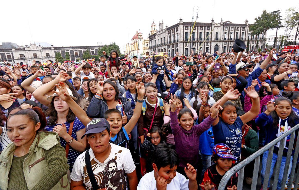 Exitoso festejo en Toluca para los Reyes de la Casa