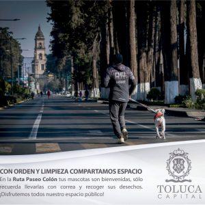 Ofrece Toluca diversas actividades recreativas en Ruta Colón