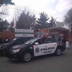 Con operativo Sendero Seguro cuida Toluca a estudiantes