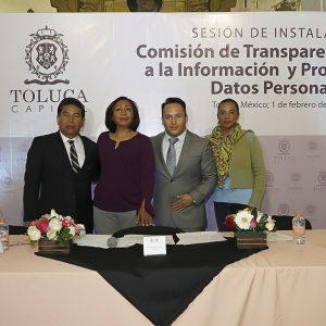 Busca Toluca ser  referente en materia de transparencia en el Edoméx