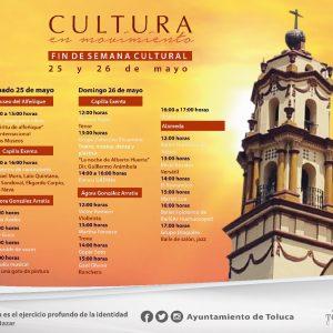 Prepara Toluca extraordinario fin de semana cultural