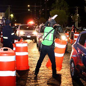 Previene Toluca accidentes automovilísticos con programa alcoholímetro