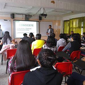 Promueve Toluca entre estudiantes taller de finanzas