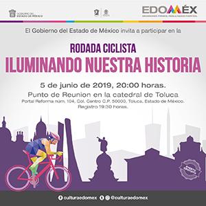 Invita Toluca a conocer edificios históricos a bordo de una bicicleta