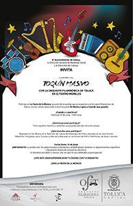 Músicos compartirán escenario con la OFiT en Toquín Masivo
