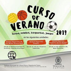 Extiende Toluca invitación al Curso de Verano Deportivo 2019