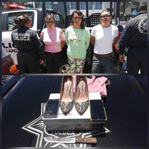 Aprehenden a tres en El Cóporo por robo con violencia