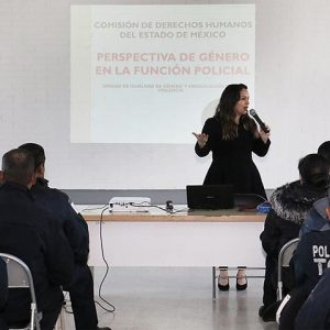 Policías de Toluca, mejor capacitados para prevenir la violencia hacia las mujeres
