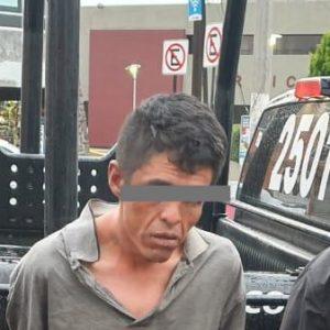 Asegura Policía de Toluca a un sujeto por presunto robo con violencia en Calixtlahuaca