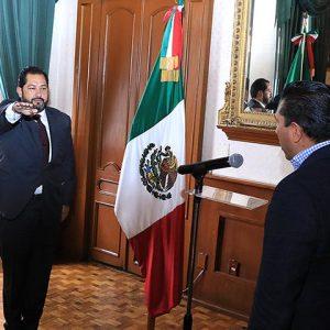 Tiene Toluca nuevo secretario del Ayuntamiento y director general de Gobierno
