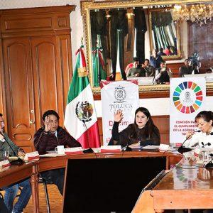"""Se adhiere Toluca a la """"Carta Veracruz por el logro de la Agenda 2030"""""""