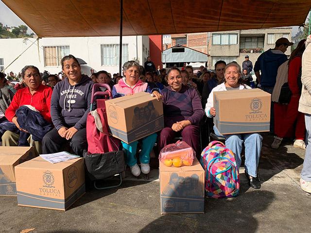 "Exitoso programa ""Capital que Nutre"" beneficia a 15 mil familias de Toluca"