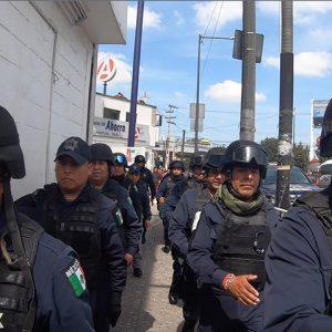 Libera Toluca espacios públicos en la zona Terminal-Mercado Juárez