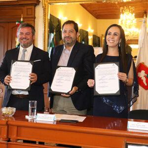 Firman Toluca y la Defensoría del Pueblo de Río Cuarto, Argentina, convenio de colaboración en Derechos Humanos