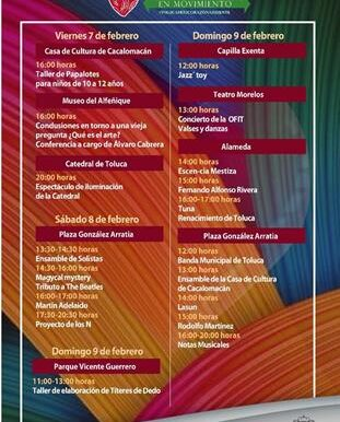Gobierno municipal fomenta la identidad, el arraigo y el amor a Toluca