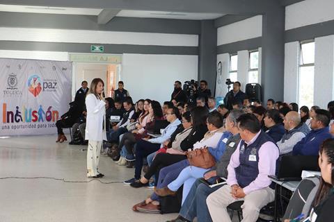Inclusión y discapacidad en Toluca, son responsabilidad de todos