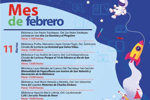 La lectura cobra vida en las Bibliotecas de Toluca
