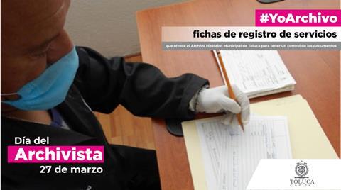 Conservan archivistas de Toluca su patrimonio documental