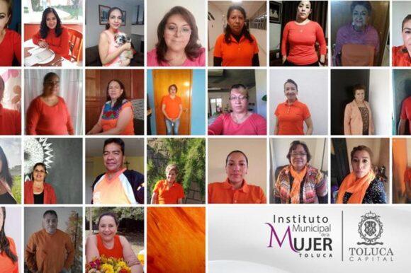 En el Día Naranja Municipal, Toluca refrenda su compromiso con niñas y mujeres