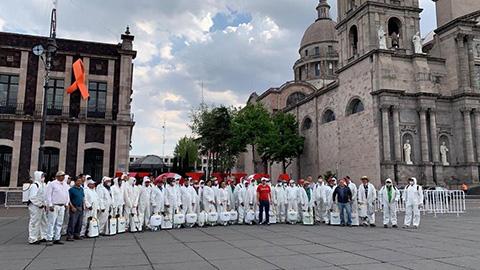 Mantiene gobierno de Toluca, trabajos de sanitización por COVID-19