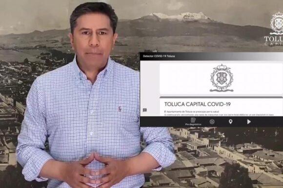 Toluca presenta App para pre diagnósticos de coronavirus