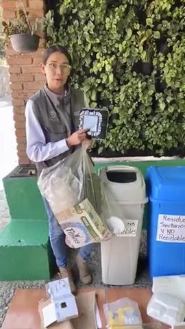 Llama Toluca a separar los residuos sólidos generados en el hogar