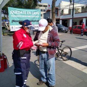 Autoridades de Toluca, continúan exhortando a la población a quedarse en casa