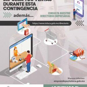 El gobierno de Toluca invita a los propietarios de negocios a registrarse en el directorio empresarial digital