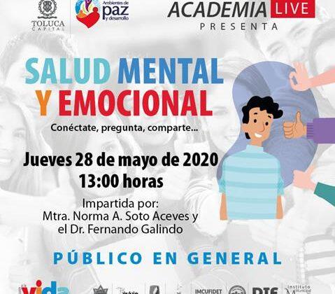 Protege Toluca salud mental y emocional de la población