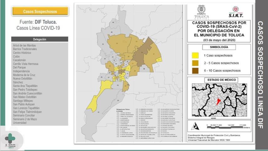 Juan Rodolfo informa de manera veraz y oportuna datos de COVID-19 en Toluca