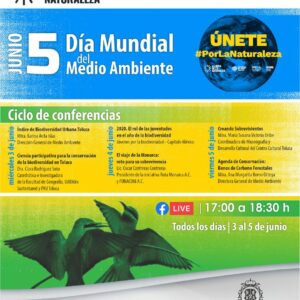 Conmemora Toluca Día Mundial del Medio Ambiente a través de conferencias virtuales