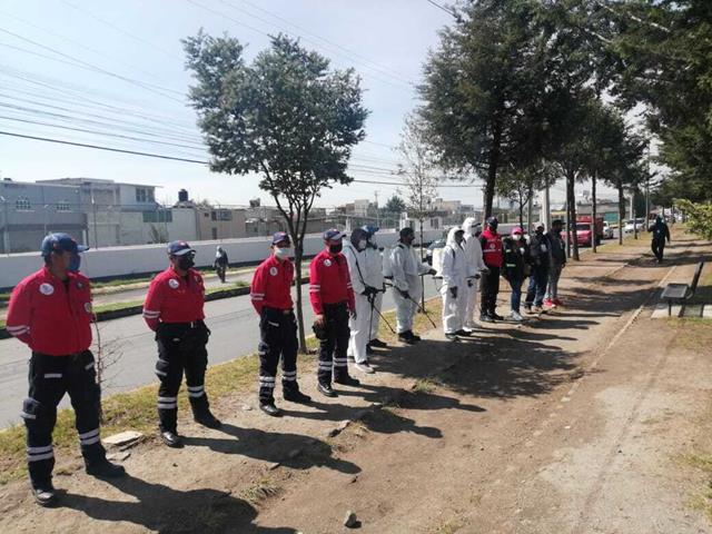 Cierran establecimientos no esenciales en San Mateo Oxtotitlán y Santa María de las Rosas