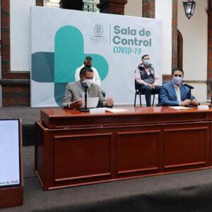 Se espera aumento en casos sospechosos, confirmados y decesos por COVID-19 en próximos días en Toluca