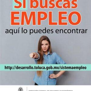 Lanza Toluca plataforma digital de vinculación laboral con empresas