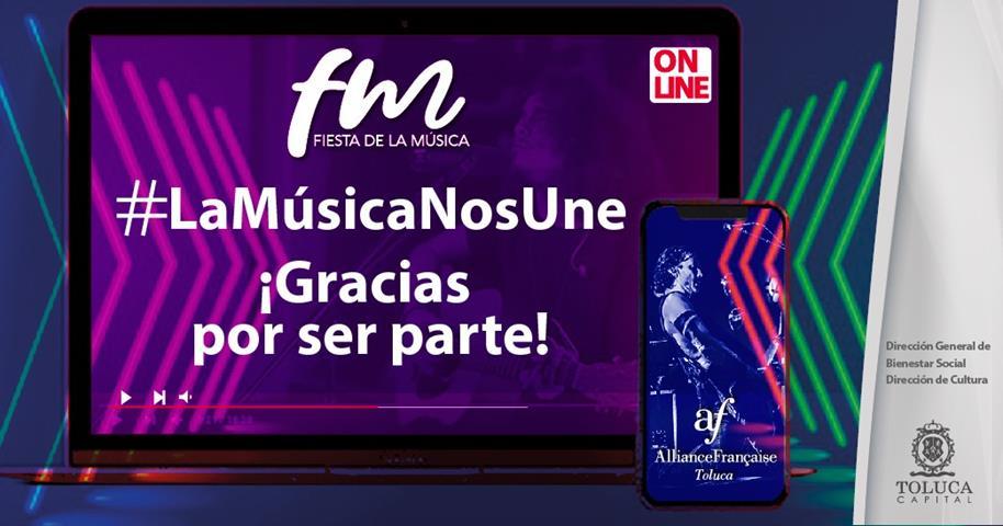 Más de 86 mil personas disfrutaron de la Fiesta de la Música en Toluca