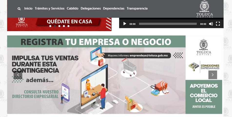 En Toluca, más de 200 PyMEs se han registrado en el Directorio Empresarial Digital