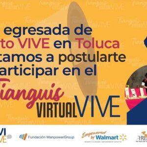 Prepara Toluca Tianguis Virtual VIVE a favor de toluqueñas