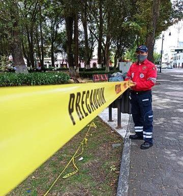 Parques y plazas públicas de Toluca continúan cerradas hasta nuevo aviso