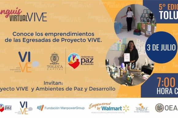 Invita Toluca al Tianguis Virtual VIVE