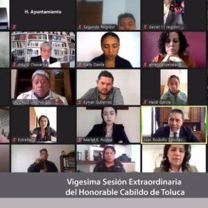 Continuará Toluca ritmo de trabajo en programas sociales y obra pública