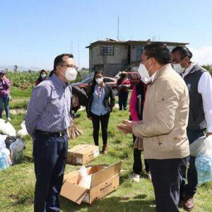 Iniciamos la entrega de 5 mil kilos de pollo para las familias más necesitadas de Toluca