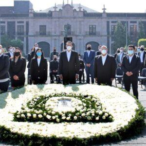 Honra Toluca memoria de quienes perdieron la batalla contra COVID-19