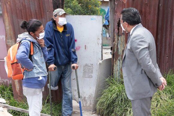 Encabeza JRSG entrega de paquetes alimentarios a sectores vulnerables