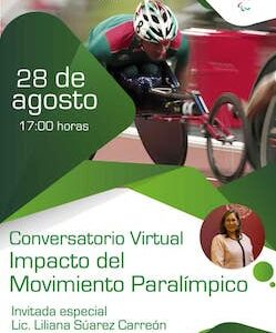 "Invita IMCUFIDET al conversatorio virtual ""Impacto del Movimiento Paralímpico"""